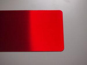 赤ヘアライン 銘板3